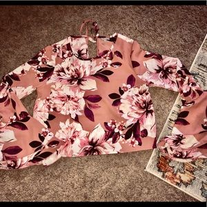 Charlotte Russe new exaggerated bell sleeved